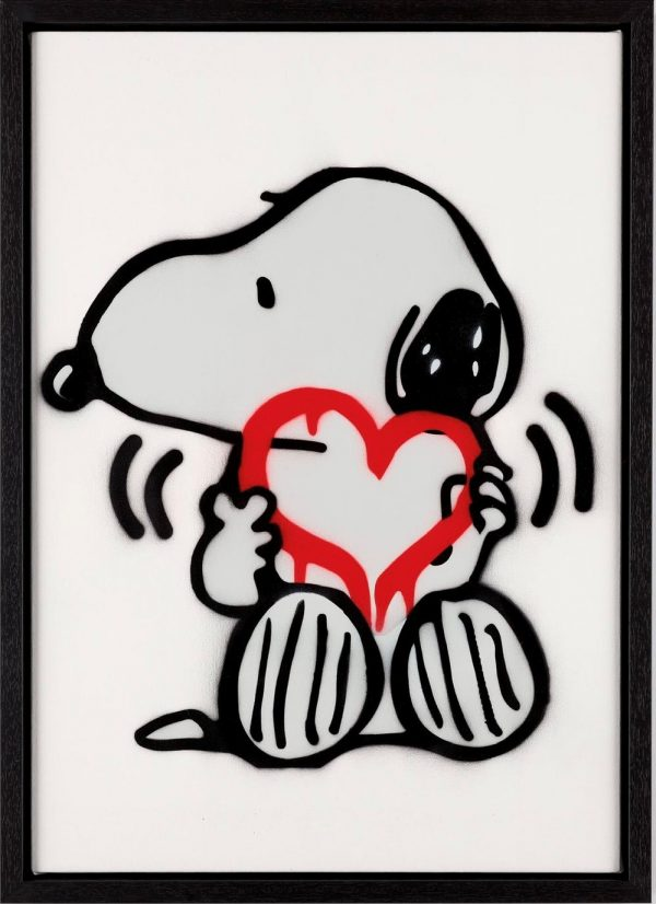 symble snoopy red heart